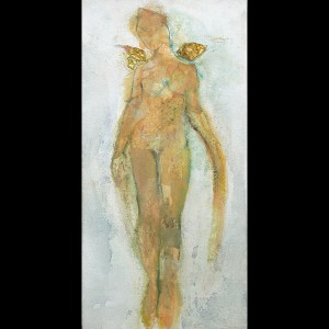 Angel Painting - Les Anges Galante I