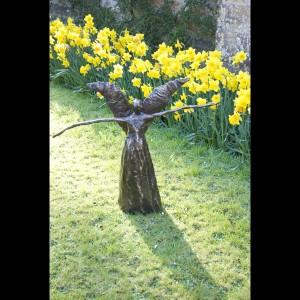 Bronze Sculpture - Windsister II