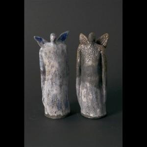 Edition 290 - Ceramic Raku Guardian of the Light Angel