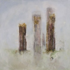 Neolithic Painting - Standing Stones No1