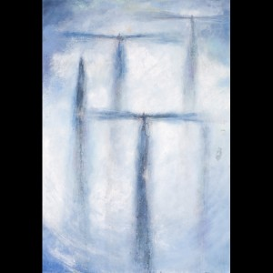 Angel Painting - Stairway to Heaven I