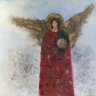 Angel Painting - The Messenger