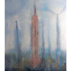 Angel Paintings - City of Angels - Empire State Building