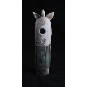 Edition 347 - Ceramic Guardian of the Light Raku Angel