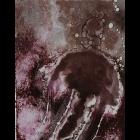 Monoprint - Brown II Jellyfish